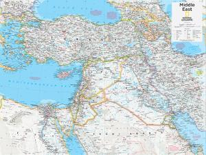Maps of the middle east posters for sale at allposters 2014 middle east national geographic atlas of the world 10th edition gumiabroncs Choice Image