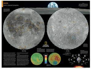 2014 Moon - National Geographic Atlas of the World, 10th Edition by National Geographic Maps