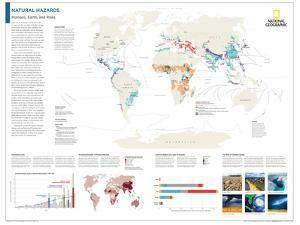2014 Natural Hazards - National Geographic Atlas of the World, 10th Edition by National Geographic Maps