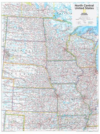 EOHSJ USA North Central Lieutenancy US Lieutenancy Map Gardening - Central us map