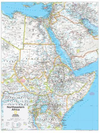 2014 Northeastern Africa - National Geographic Atlas of the World, 10th Edition by National Geographic Maps