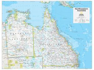 2014 Northeastern Australia - National Geographic Atlas of the World, 10th Edition by National Geographic Maps