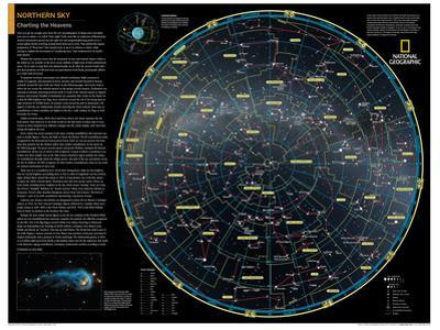 2014 Northern Sky - National Geographic Atlas of the World, 10th Edition