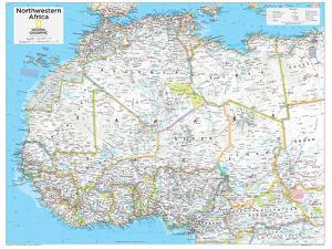 2014 Northwestern Africa - National Geographic Atlas of the World, 10th Edition by National Geographic Maps