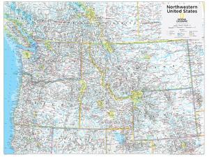 2014 Northwestern US - National Geographic Atlas of the World, 10th Edition by National Geographic Maps