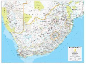 2014 South Africa - National Geographic Atlas of the World, 10th Edition by National Geographic Maps