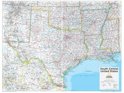 2014 South Central US - National Geographic Atlas of the World, 10th Edition by National Geographic Maps