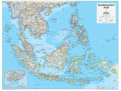 2014 Southeastern Asia - National Geographic Atlas of the World, 10th Edition by National Geographic Maps