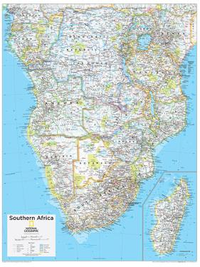 2014 Southern Africa - National Geographic Atlas of the World, 10th Edition by National Geographic Maps