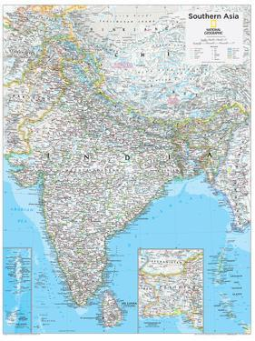 2014 Southern Asia - National Geographic Atlas of the World, 10th Edition by National Geographic Maps