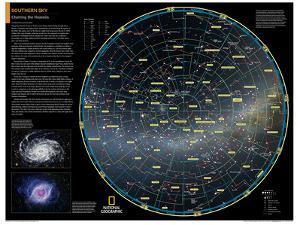 2014 Southern Sky - National Geographic Atlas of the World, 10th Edition by National Geographic Maps