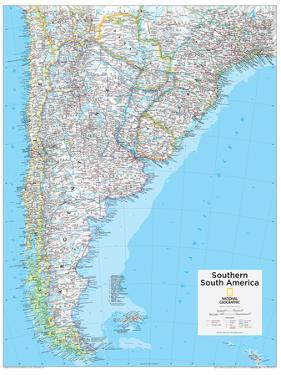 2014 Southern South America - National Geographic Atlas of the World, 10th Edition by National Geographic Maps