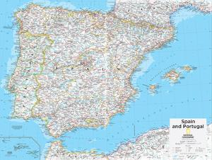 2014 spain and portugal national geographic atlas of the world 10th edition by national