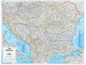 2014 The Balkans - National Geographic Atlas of the World, 10th Edition by National Geographic Maps