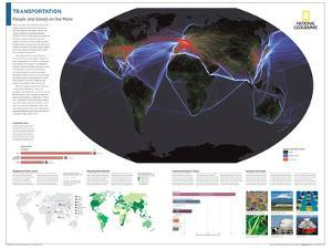 2014 Transportation - National Geographic Atlas of the World, 10th Edition by National Geographic Maps