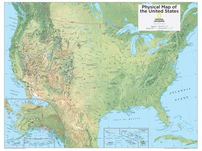 Atlas Map Physical Features Jpg Southwestern US Physical Map - Us map physical