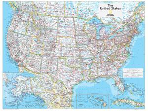 2014 United States Political - National Geographic Atlas of the World, 10th Edition by National Geographic Maps