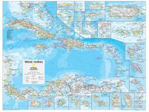 2014 West Indies - National Geographic Atlas of the World, 10th Edition by National Geographic Maps