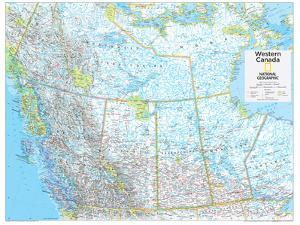 2014 Western Canada - National Geographic Atlas of the World, 10th Edition by National Geographic Maps