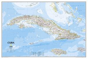 National Geographic - Cuba Classic Map Laminated Poster by National Geographic Maps