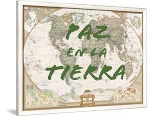 Paz en la Tierra by National Geographic Maps