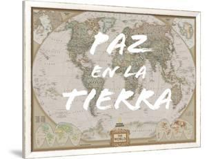 Paz en la Tierra by National Geographic Maps