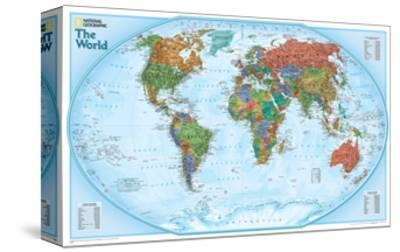 World Explorer Map by National Geographic Maps