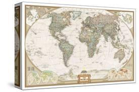 Affordable world maps framed art for sale at allposters world political map executive style by national geographic maps gumiabroncs Images