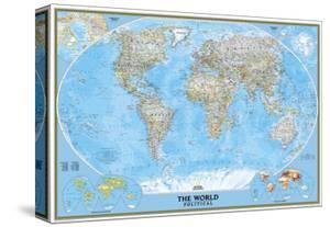 World maps posters for sale at allposters world political map by national geographic maps gumiabroncs Images