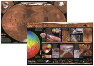 National Geographic Mars, The Red Planet (Double-Sided)
