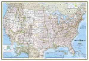Maps Of The United States Posters At AllPosterscom - Buy map posters