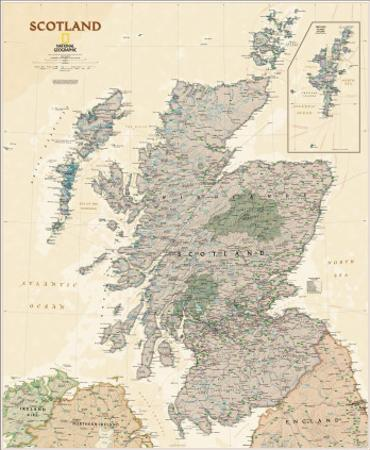 National Geographic Scotland Executive Style