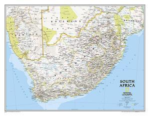 National Geographic South Africa Map