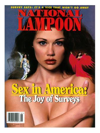 National Lampoon, January and February 1995 - Sex in America: The Joy of Surveys