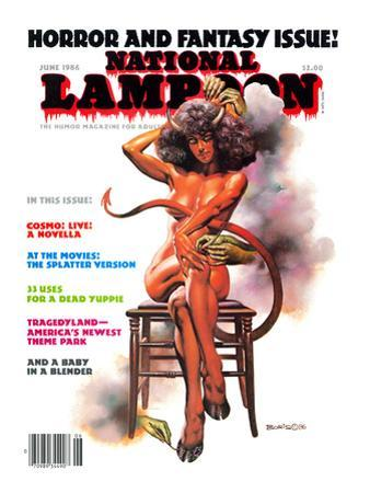 National Lampoon, June 1986 - Horror and Fantasy Issue
