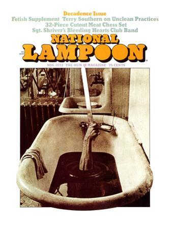National Lampoon, November 1972 - Decadence Issue