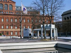National Law Enforcement Officers Memorial, Washington, D.C., USA