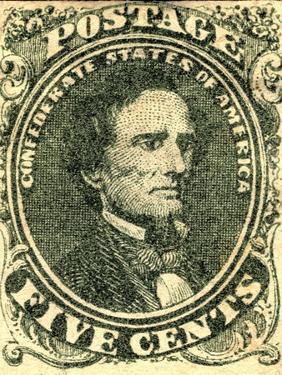 National Postal Museum: 5-Cent Green Jefferson Davis Confederate Stamp