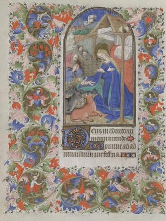 Nativity (Book of Hour), 1440-1460
