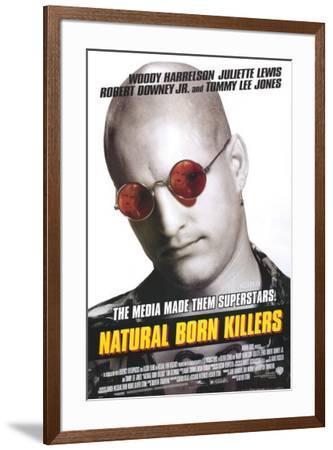 Natural Born Killers--Framed Poster