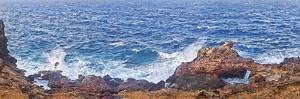 Natural Bridge of Rocks at the Coast, Colorado Point, Aruba