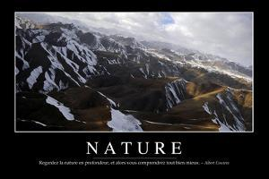 Nature: Citation Et Affiche D'Inspiration Et Motivation