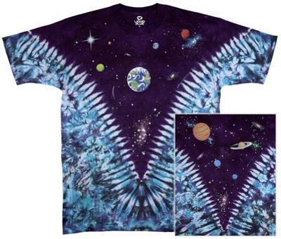 Nature-Space Top Tie Dye