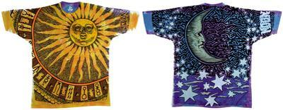 Nature-Sun Moon Tie Dye