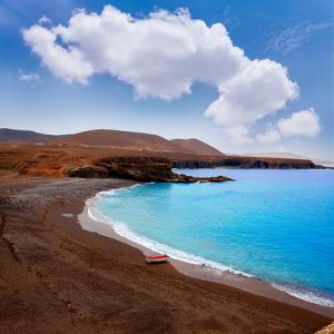 Ajuy Beach Fuerteventura at Canary Islands of Spain by Naturewolrd