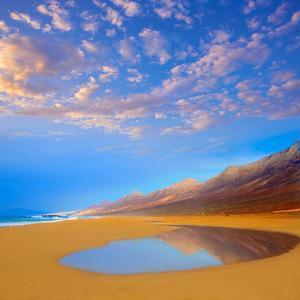 Cofete Fuerteventura Barlovento Beach at Canary Islands of Spain by Naturewolrd