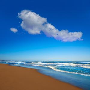 Tavernes De Valldigna Beach Dunes in Valencia of Spain by Naturewolrd