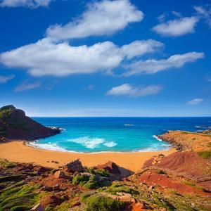 Cala Pilar Beach in Menorca Alfuri De Dalt at Balearic Islands of Spain by Natureworld