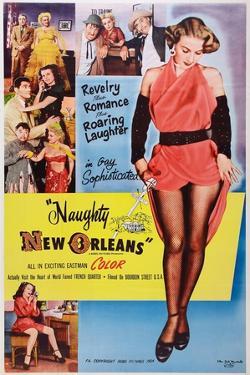 Naughty New Orleans Art, 1954