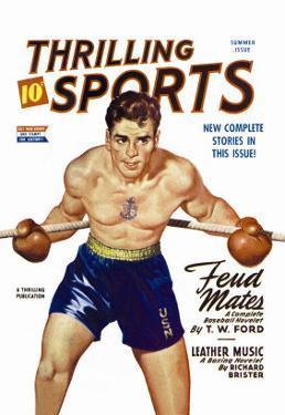 Navy Boxer